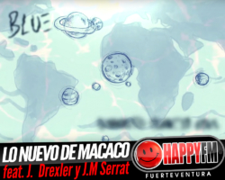 "Macaco estrena ""Blue (Diminuto Planeta Azul)"" junto a Jorge Drexler y Joan Manuel Serrat"
