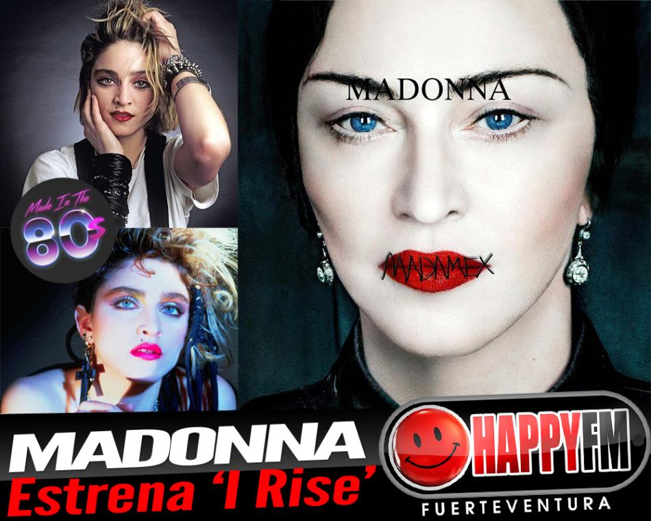 """Madonna estrena el tema """"I Rise"""""""