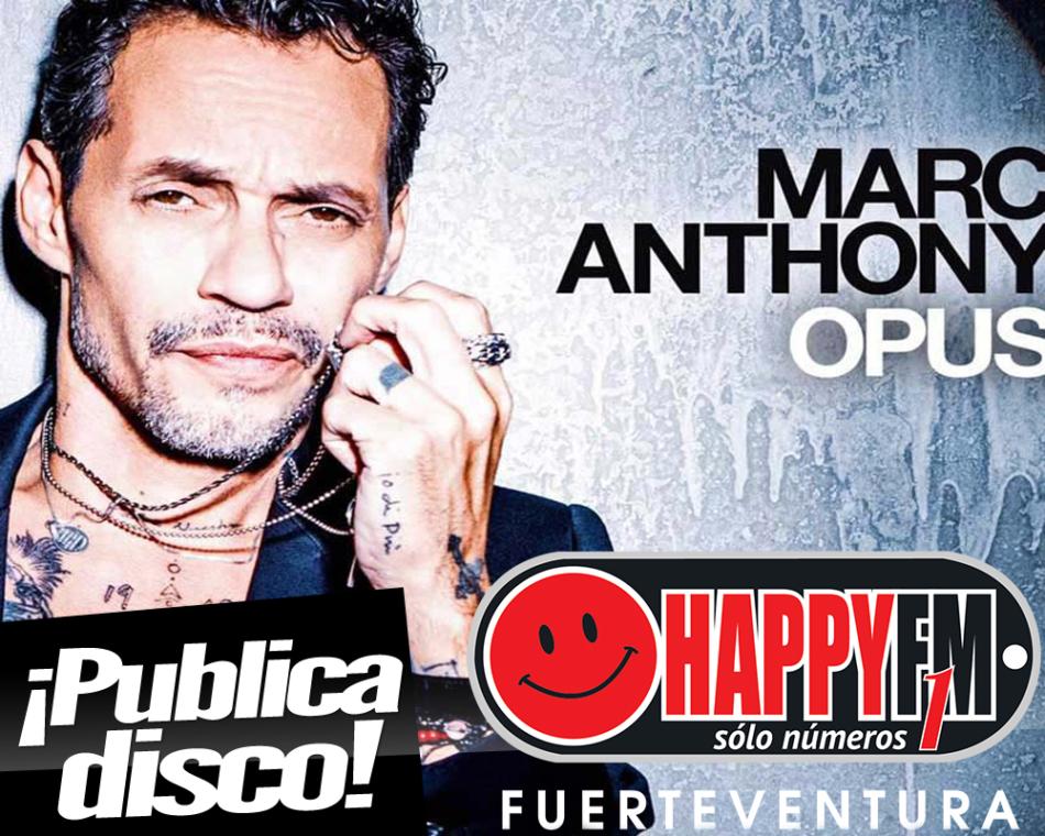 Ya está disponible «Opus», el nuevo trabajo discográfico de Marc Anthony