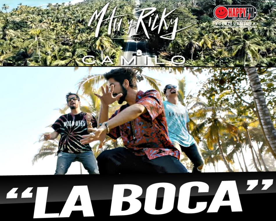 """""""La Boca"""" es la nueva colaboración de Mau y Ricky junto a Camilo"""