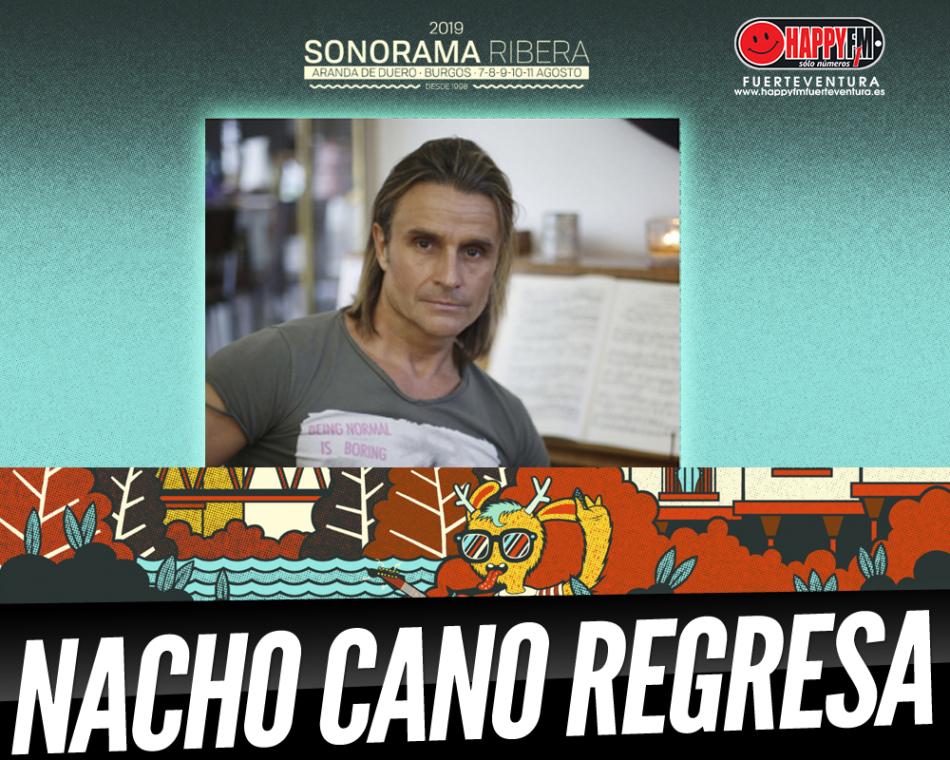 Nacho Cano actuará en el Sonorama Ribera 2019