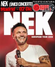Único concierto de Nek en Madrid