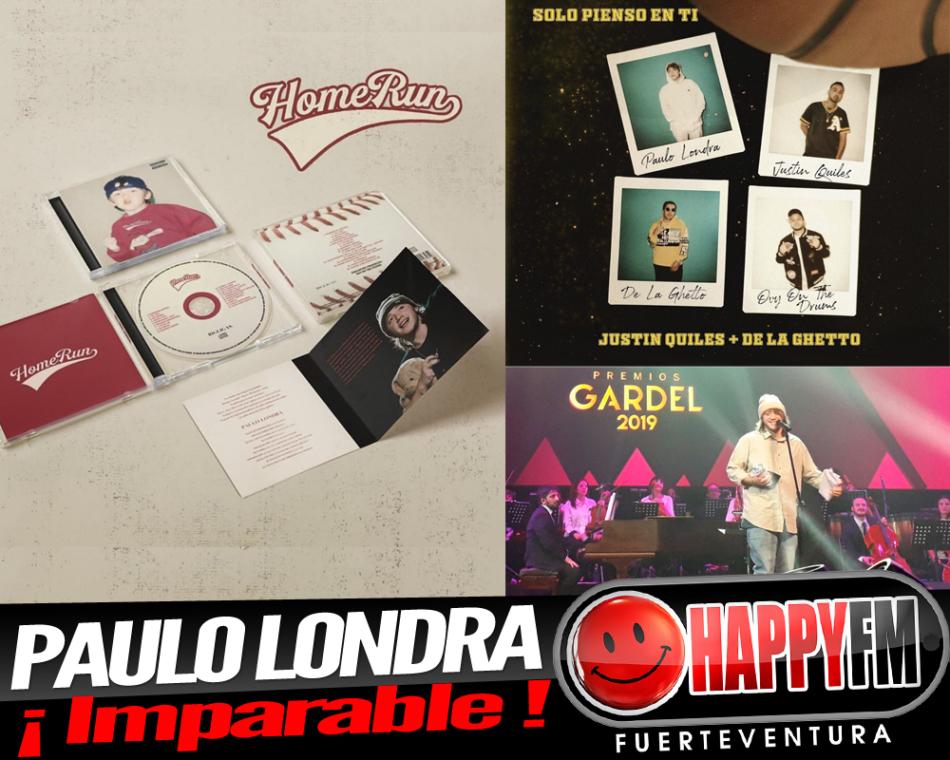 Paulo Londra está imparable: nuevo single, disco y premios