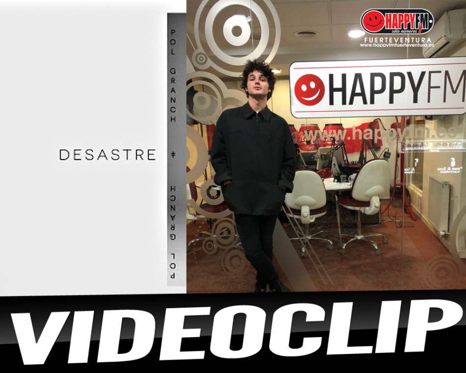 """Pol Granch publica el videoclip de su single """"Desastre"""""""