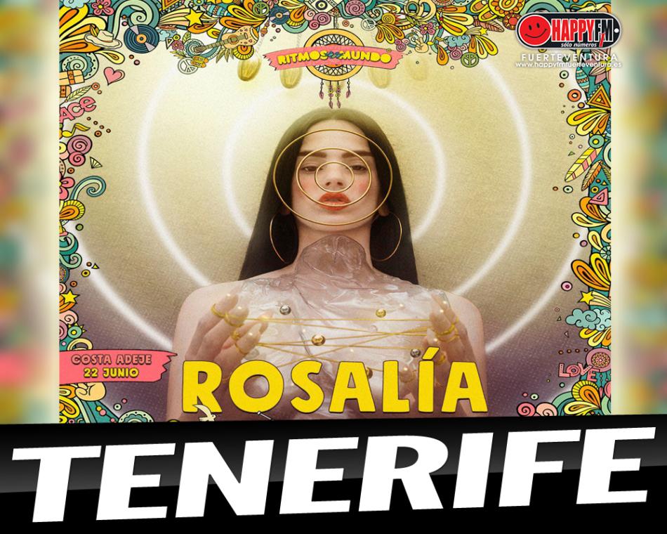 Rosalía actuará en el Festival «Ritmos del Mundo» en Tenerife