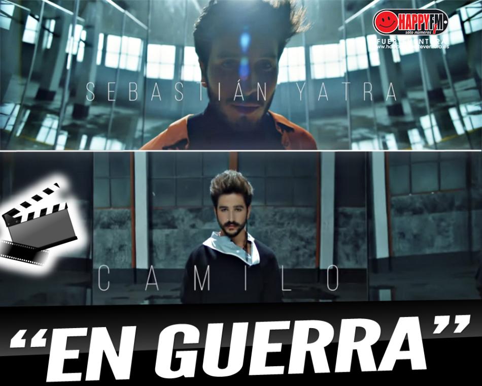 """Sebastian Yatra estrena el videoclip del tema """"En Guerra"""" junto a Camilo"""