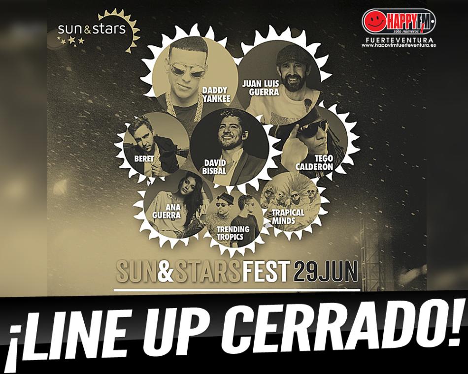 Sun & Stars Festival cierra su line up con las confirmaciones de Daddy Yankee y Trapical Minds