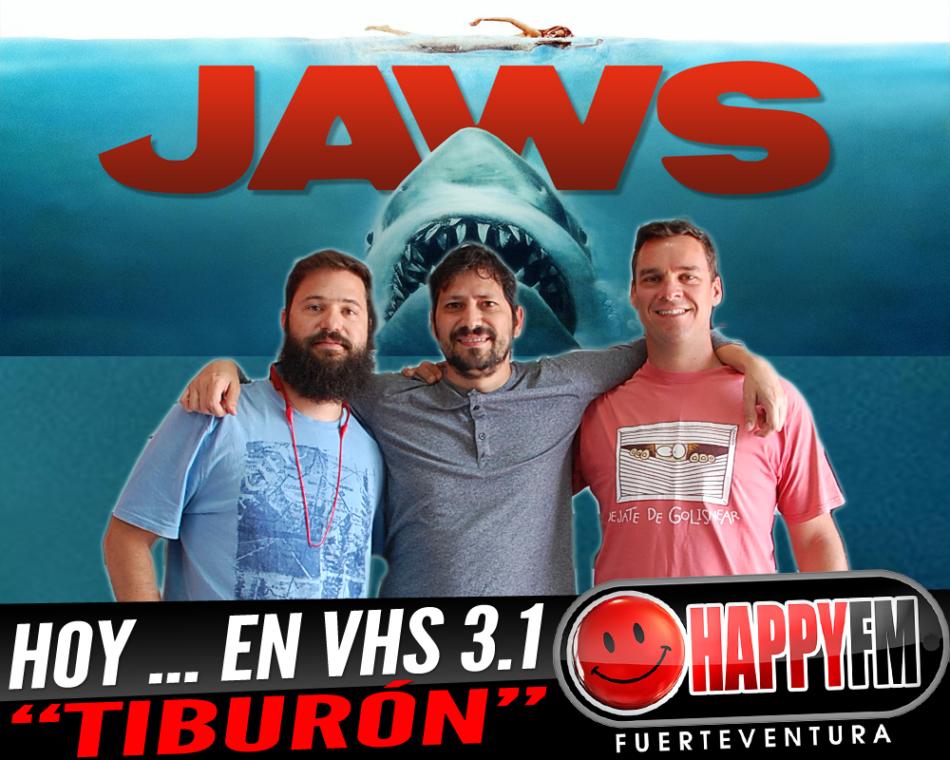 """Hoy en VHS 3.1…suspense con la película """"Tiburón"""""""
