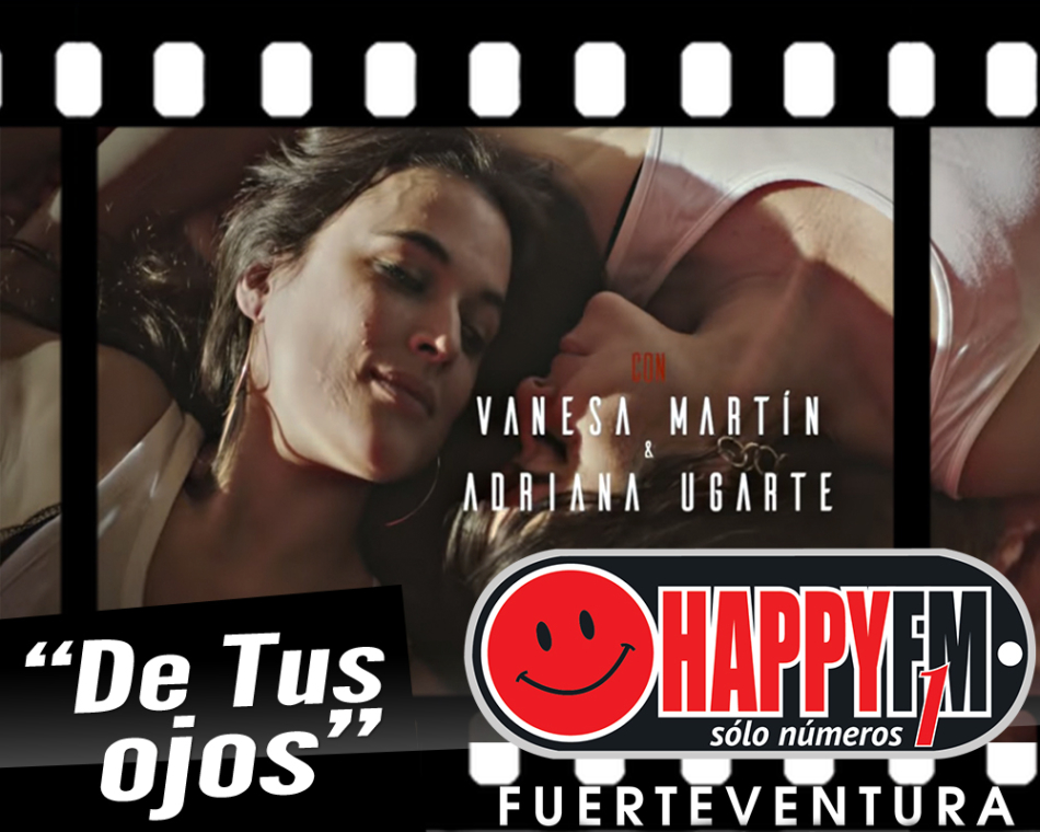 """Vanesa Martín protagoniza el videoclip de su tema """"De Tus Ojos"""" junto a Adriana Ugarte"""
