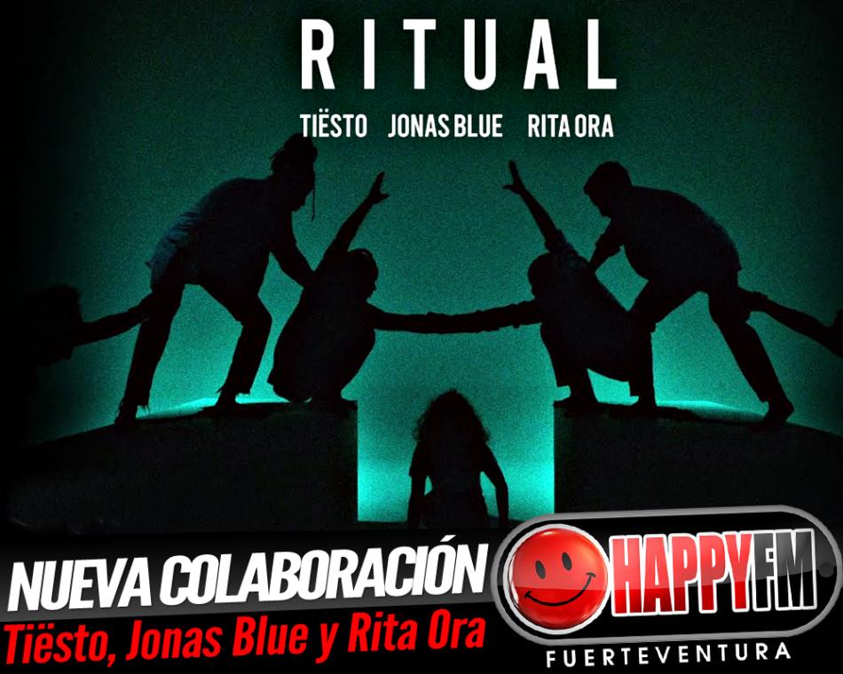 «Ritual» es el título de la colaboración de Rita Ora con Tiësto y Jonas Blue