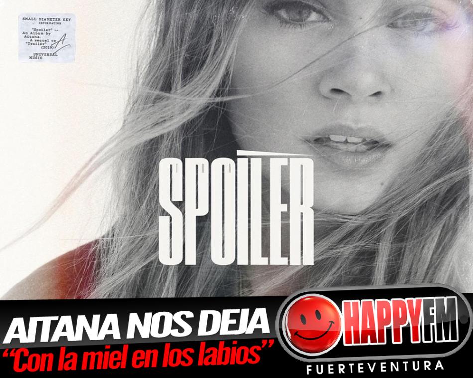 """A punto de publicar su disco debut, Aitana estrena el single """"Con la miel en los labios"""""""