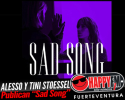 """Alesso y Tini Stoessel publican el tema """"Sad Song"""""""