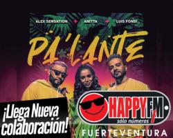 """Alex Sensation, Anitta y Luis Fonsi unen sus voces en el tema """"Pa' Lante"""""""
