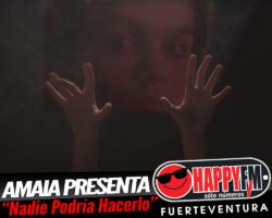 """Amaia presenta """"Nadie Podría Hacerlo"""""""