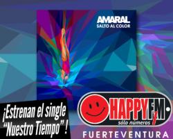 """Amaral publica """"Nuestro Tiempo"""" como segundo adelanto de su próximo trabajo discográfico"""