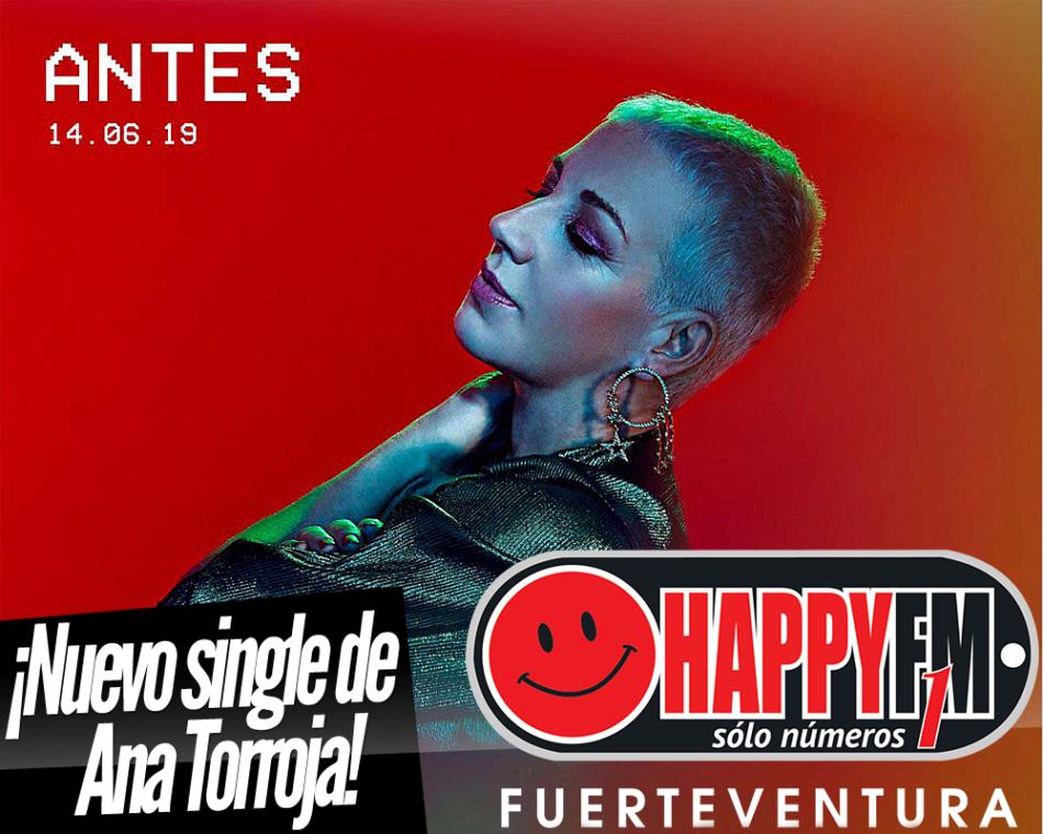 """""""Antes"""" es el nuevo single de Ana Torroja"""