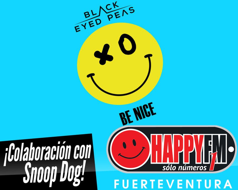 """Black Eyed Peas estrena """"Be Nice"""" con la colaboración de Snoop Dog"""