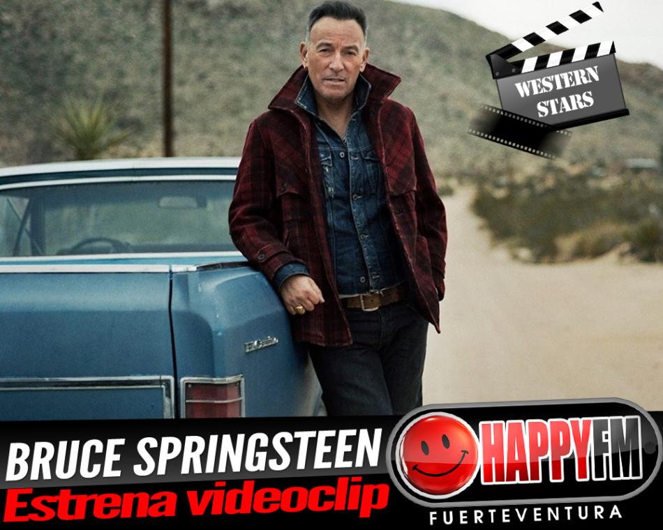 Bruce Springsteen estrena el videoclip del tema principal de su nuevo trabajo discográfico, «Western Stars»