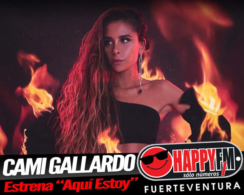 """""""Aquí Estoy"""" es el nuevo single de Cami Gallardo"""