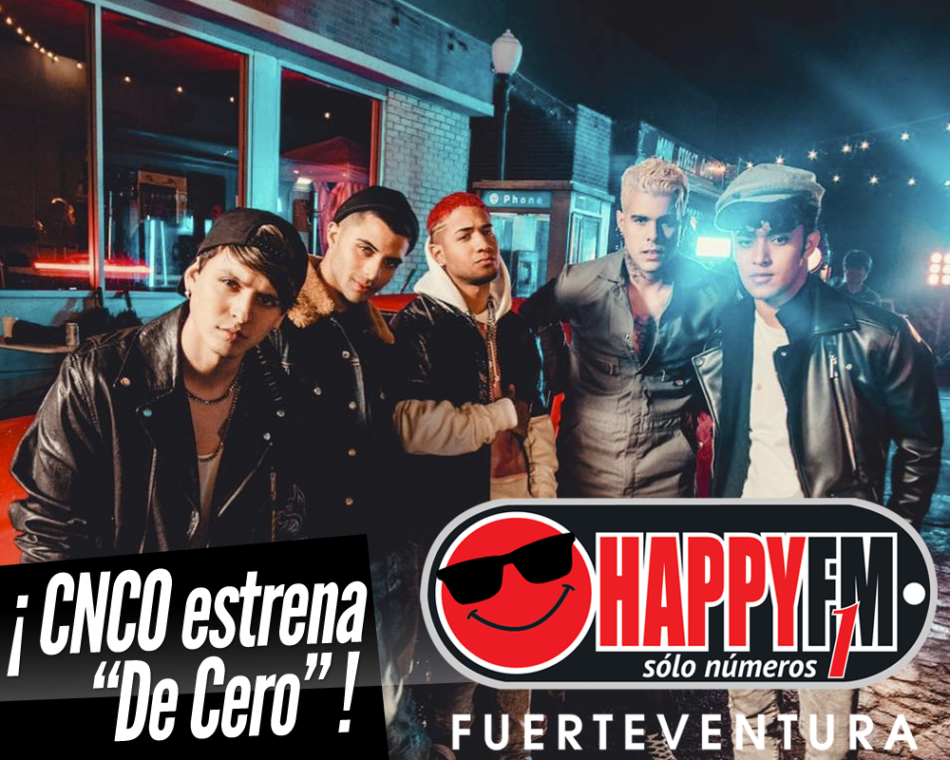 CNCO estrenan el tema «De Cero»