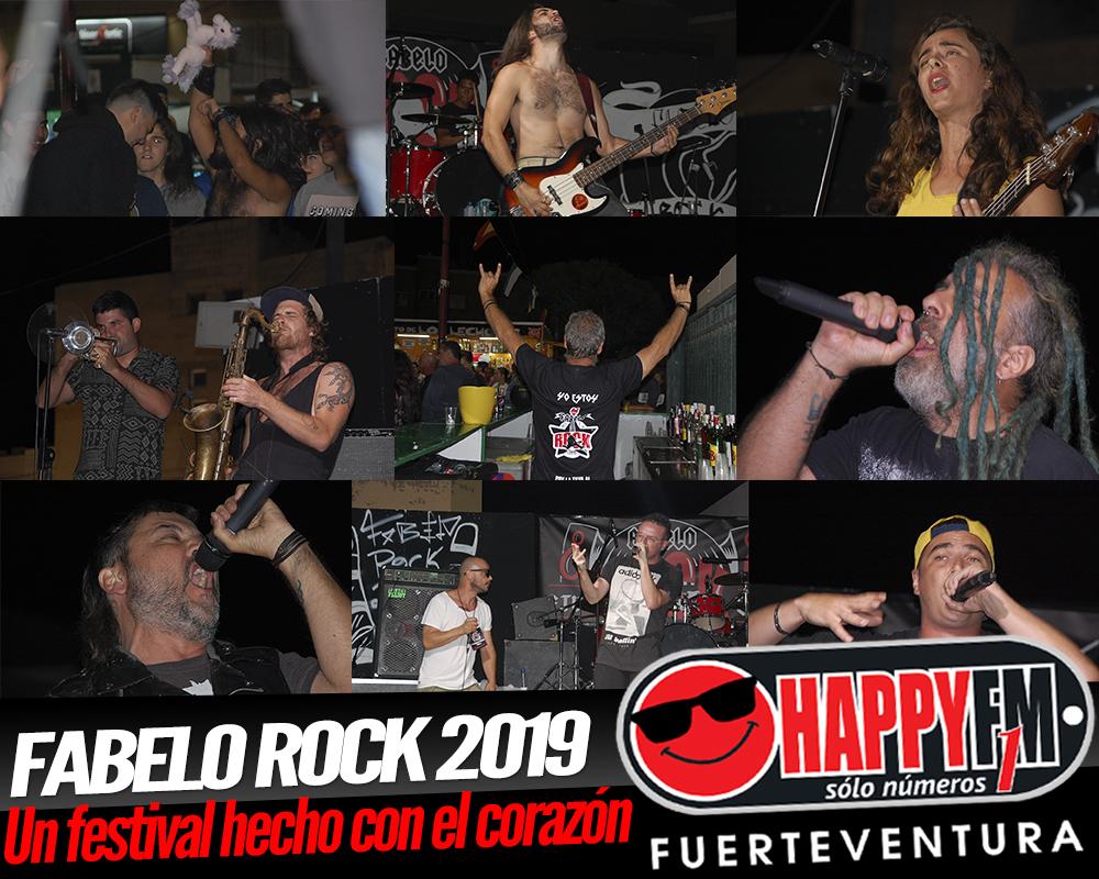 Fabelo Rock 2019, un festival de música hecho con el corazón.