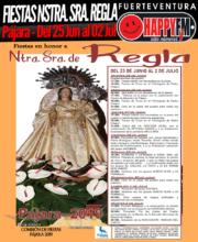 Fiestas en honor a Nuestra Señora de Regla 2019 en Pájara: del 25 de Junio al 02 de Julio