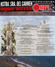 Fiestas en honor a Nuestra Señora del Carmen 2019 en Giniginámar: del 03 al 16 de Julio