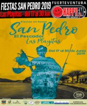 Fiestas en honor a San Pedro 2019 en Las Playitas: Del 17 al 30 de Junio