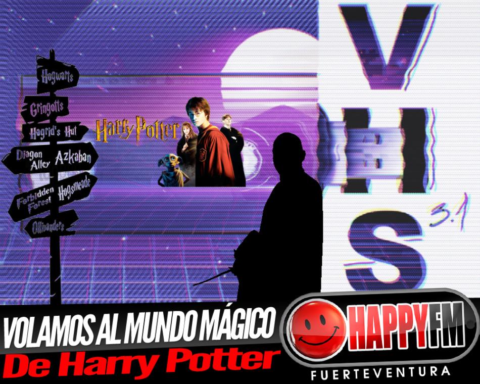 Volamos al «Mundo Mágico» de Harry Potter en VHS 3.1