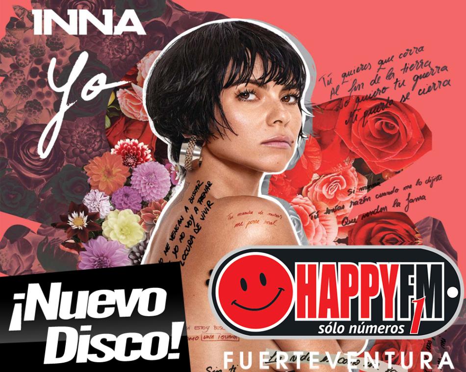 Inna publica su nuevo disco en español «Yo»