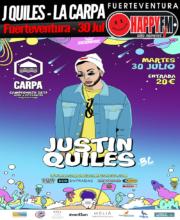 Justin Quiles en La Carpa 2019