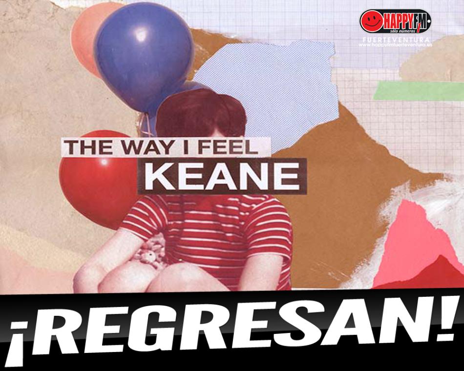 """""""The Way I Feel"""" es el single de regreso de Keane"""