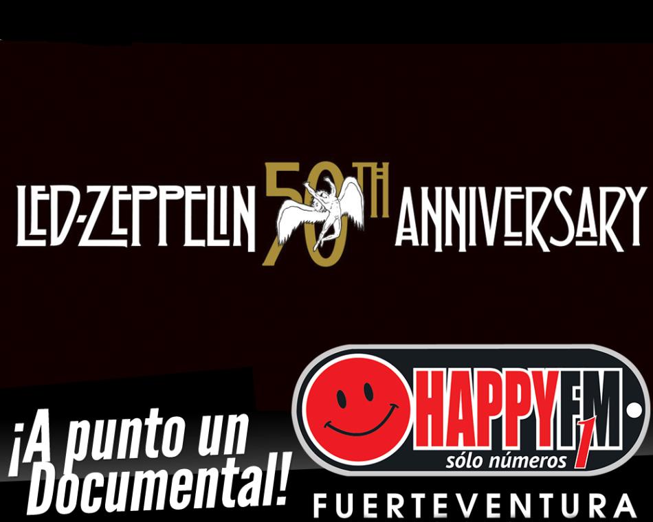 A punto el documental del 50 aniversario de Led Zeppelin