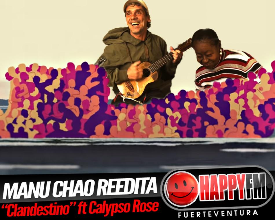 Manu Chao reedita «Clandestino» con la colaboración de Calypso Rose