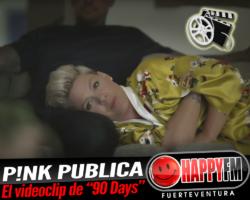 """P!nk ha publicado el videoclip oficial del tema """"90 Days"""""""