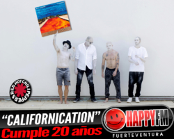 "El disco ""Californication"" de Red Hot Chilli Peppers cumple 20 años"