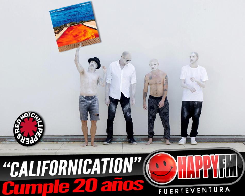 El disco «Californication» de Red Hot Chilli Peppers cumple 20 años