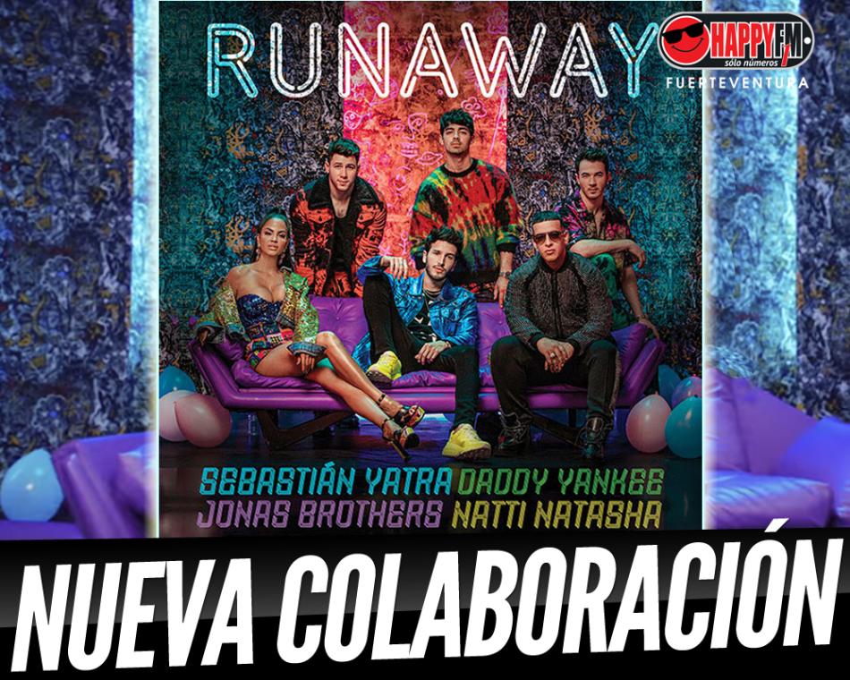 """Sebastian Yatra, Daddy Yankee, Jonas Brothers y Natti Natasha publican la colaboración """"Runaway"""""""