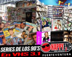 Recordamos en VHS 3.1 series televisivas que lo petaron en los 90s