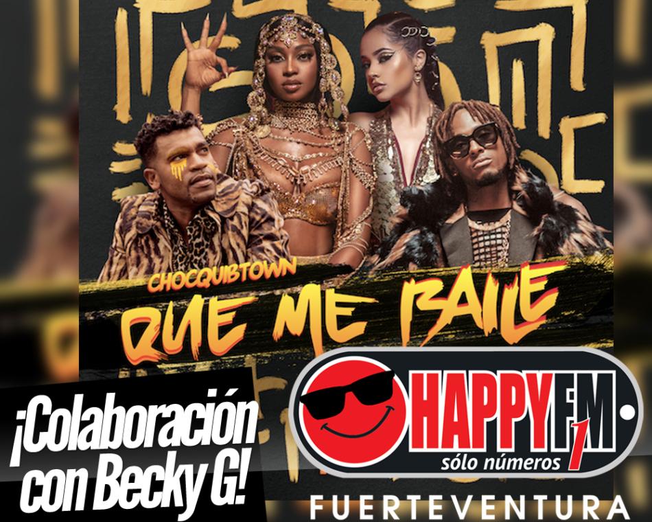 «Que Me Baile» es lo nuevo de ChocQuibTown con Becky G