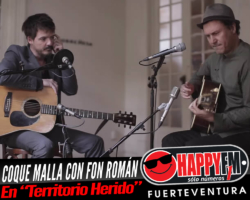 """Coque Malla a dúo con Fon Román en el tema """"Territorio Herido"""""""