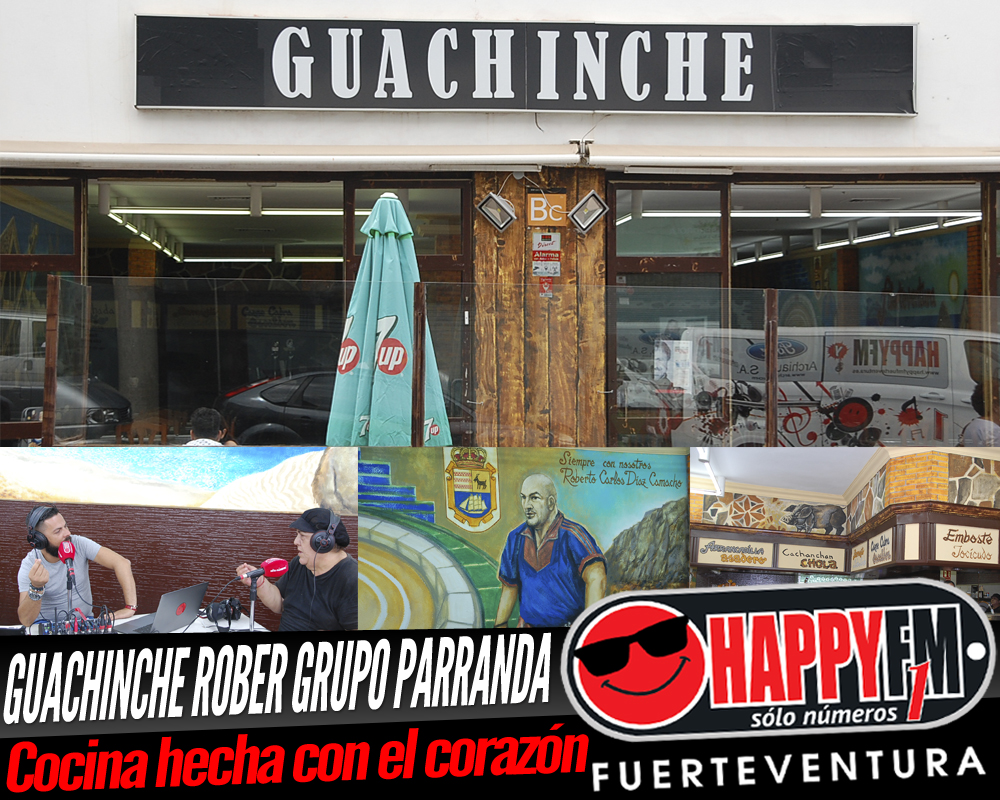 Despiértate Happy desde el Guachinche Rober Grupo Parranda