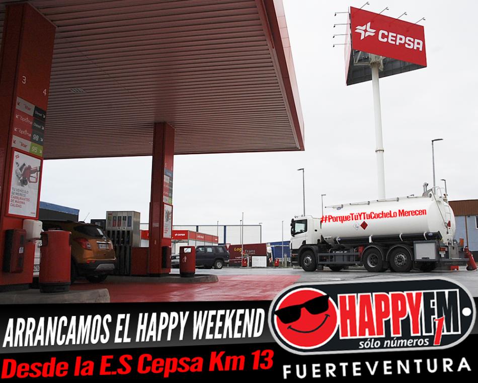 Empezamos el finde very happy desde la Estación de Servicio Cepsa Km 13 porque nos apetece
