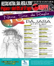 Fiestas en honor a Nuestra Señora de Regla 2019 en Pájara: del 05 al 17 de Agosto