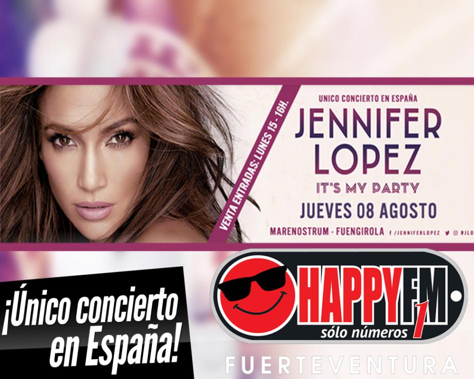 Único concierto de Jennifer López en nuestro país