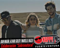 """Juan Magán, Álvaro Soler y Marielle Hazlo publican por sorpresa una colaboración """"Sobrenatural"""""""