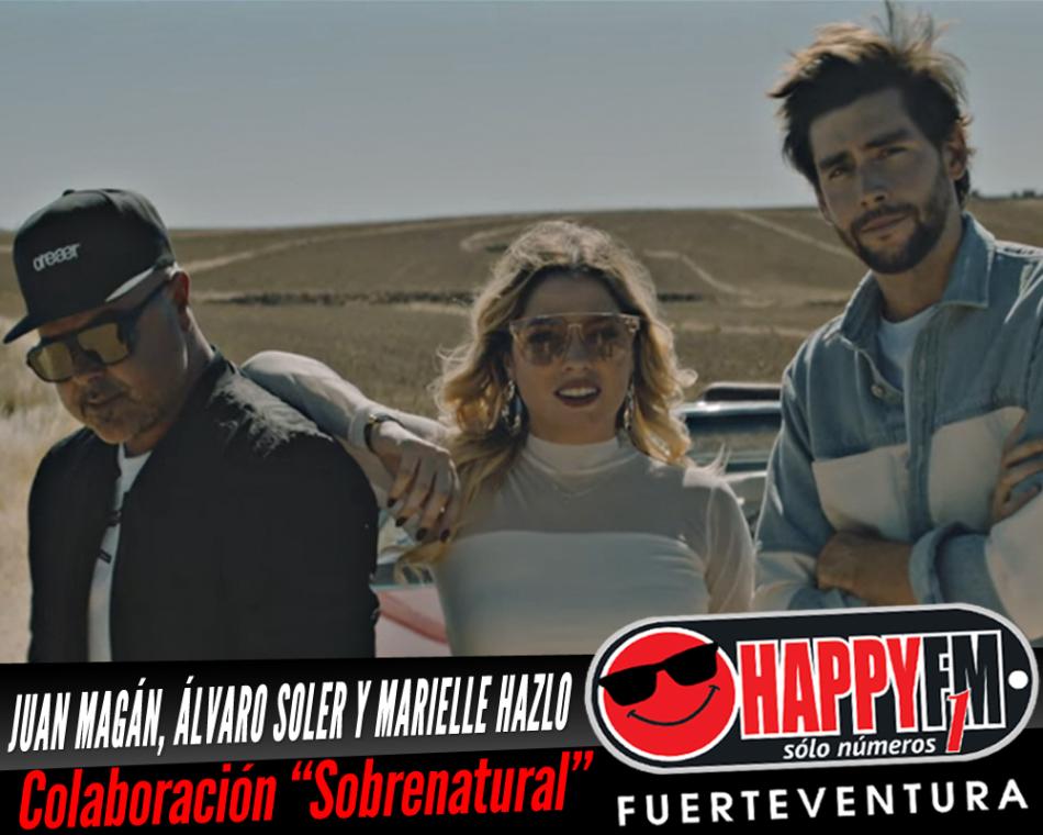 Juan Magán, Álvaro Soler y Marielle Hazlo publican por sorpresa una colaboración «Sobrenatural»