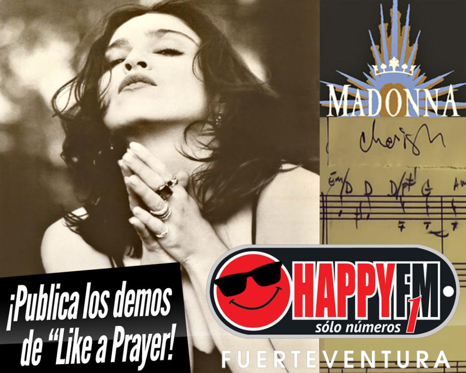 Madonna publica las demos de «Like a Prayer» y el videoclip del tema «Batuka»