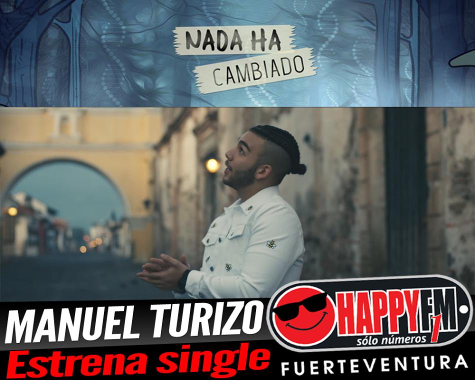 Manuel Turizo estrena el single «Nada Ha Cambiado»