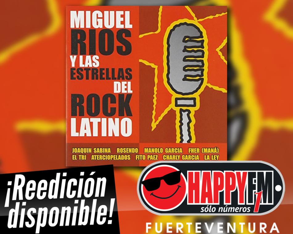 Reeditado el disco de colaboraciones «Miguel Ríos y las estrellas del rock latino»